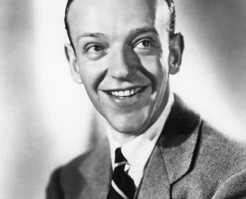 Fred Astaire With Collar Pin