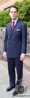 Chalk Stripe Suit Ralph Lauren Purple Label 5