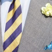 Boutonniere On A Suit