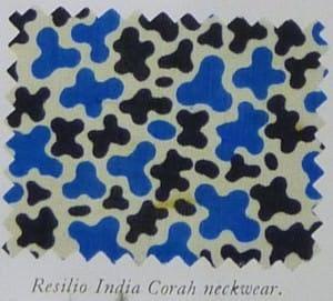 Resilio India Corah Neckwear Tie