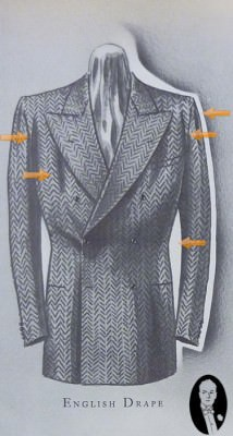 The English Drape suit as interpreted by Americans