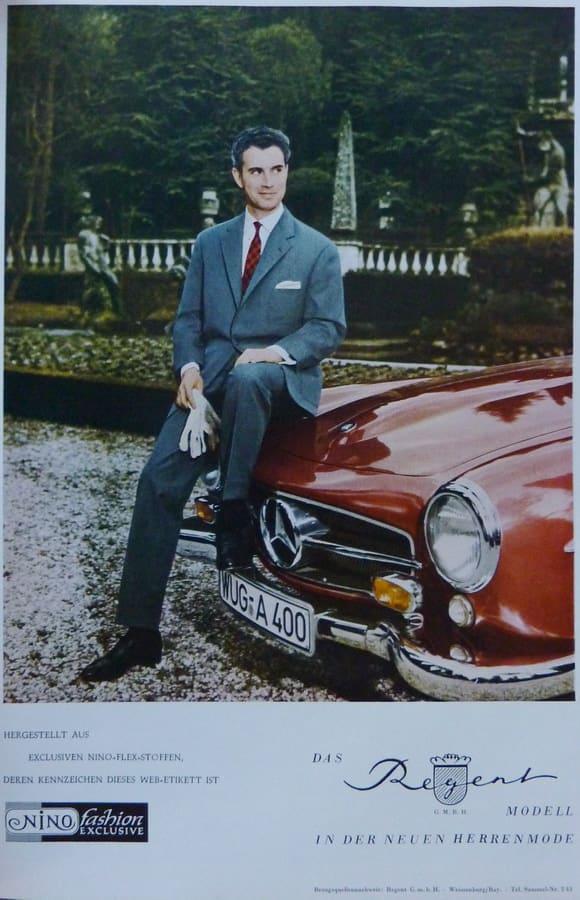 am besten verkaufen Geschäft exzellente Qualität Werksführung in der Anzug Manufaktur von Regent, Weissenburg ...
