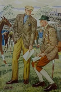 Horce Race Maryland Hunt Cup Gentlemen Outfit