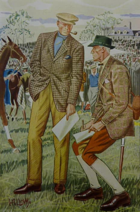 Pferderennen Sakko Maryland Hunt Cup Gentlemen Outfit