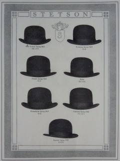 Stetson Bowler aka Derby or Coke 1920s