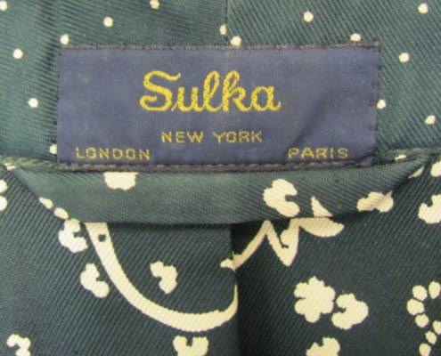 Sulka Dressing Gown