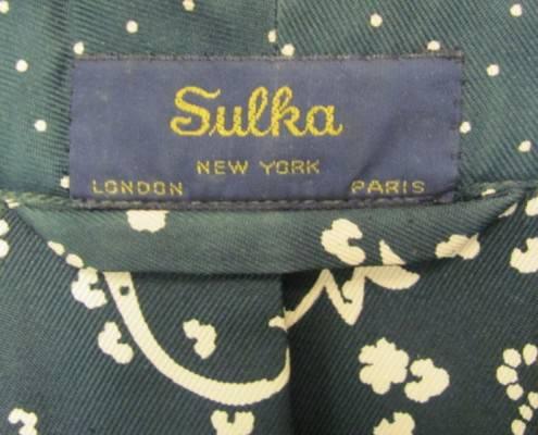 Sulka Dressing Gown