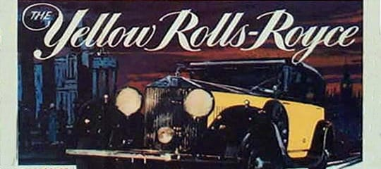 The Yellow Rolls Royce Film