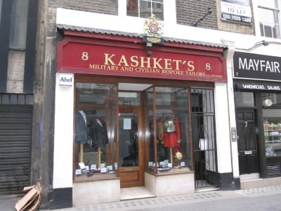 Kashket & Partner Ltd Bespoke & Military Uniform Tailors