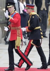 Prince William Irish Guards Uniform