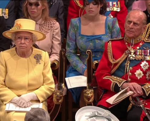 Royal Wedding Queen & Duke of Edinburgh