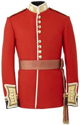 Irish Guards Uniform Prince William