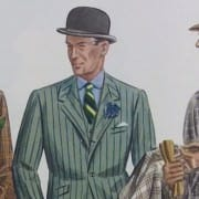 Plaid Chalkstripe Windowpane Suits 1930s
