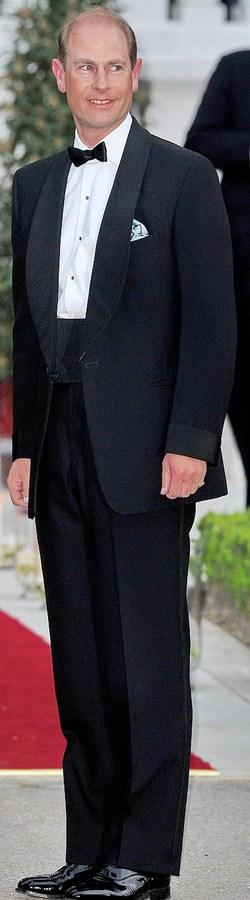 Prince Edward - Shawl Collar & Cuffs Dinner Jacket