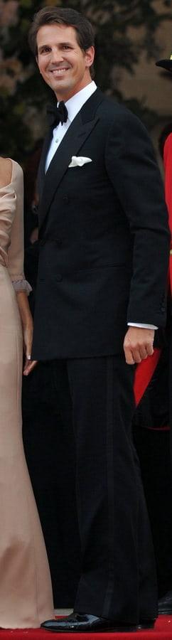 Tuxedo - Prince Pavlos of Greece