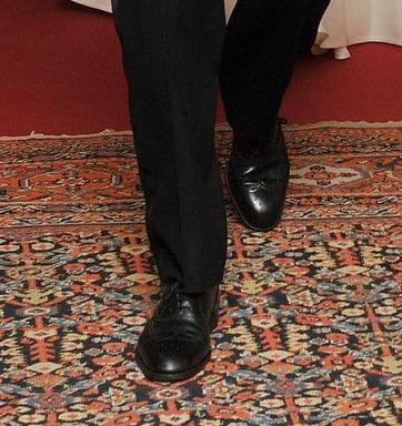 Prince William Wingtip Shoes faux pas