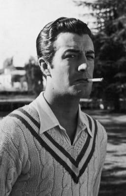 Robert Taylor Tennis Sweater - 1936
