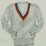 Golf / Tennis Sweater Cable Knit - Apparel Arts 1933