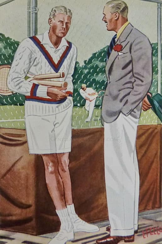The Cable Knit Tennis Sweater Cricket Jumper Gentleman