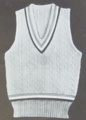 Tennis Sweater Vest / Slipover by McGregor for US Olympic Team 1932
