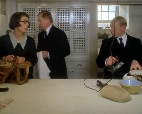 Gosford Park Ironing Downstairs