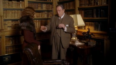 Gosford Park Sir William McCordle in Plaid Tweed Country Suit