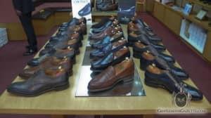 John Rushton Shoes: Crockett & Jones,  Alfred Sargent, Cheaney