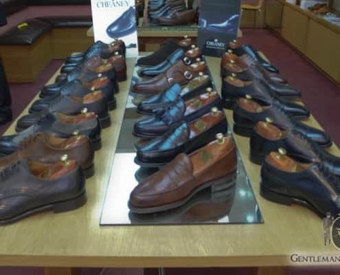John Rushton Shoes: Crockett & Jones, Alfred Sargent, Cheaney