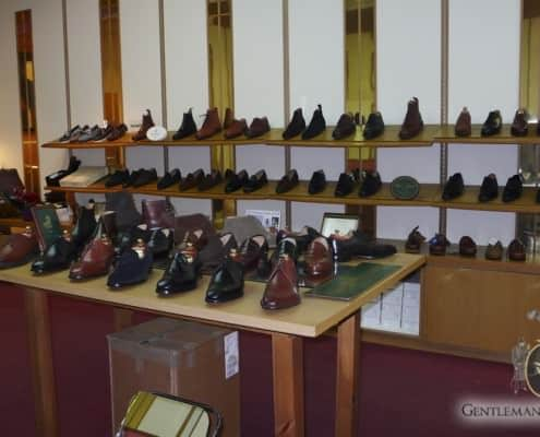 John Rushton Shoes London Inside