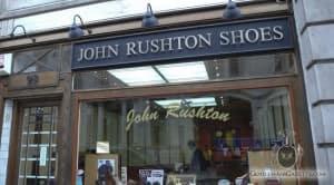 John Rushton Shoes Ladenfront