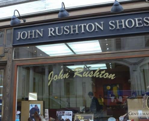 John Rushton Shoes Storefront