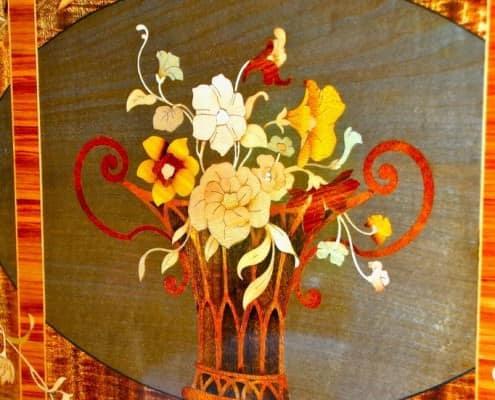 Orient Express - Art Déco Marquetry Diner