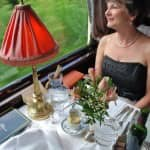 Orient Express  - elegantes Dinner