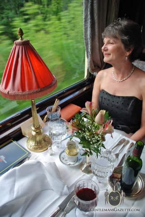 Orient Express Elegant Dinner