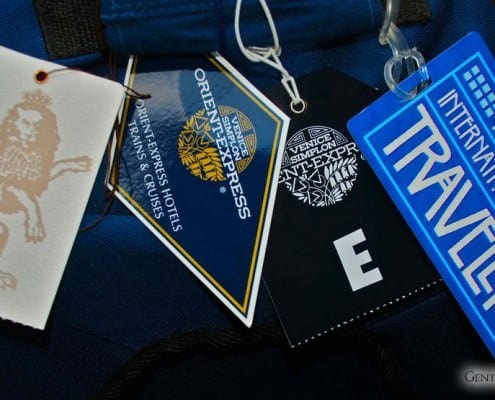 Orient Express & IRT Luggage Tags