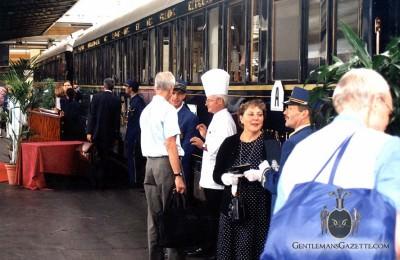 Orient Express Platform Paris