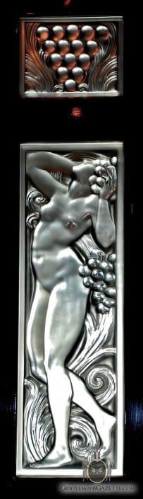 Orient Express René Lalique Glass Detail