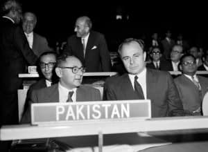 Aly Khan - United Nations - 15th September 1959