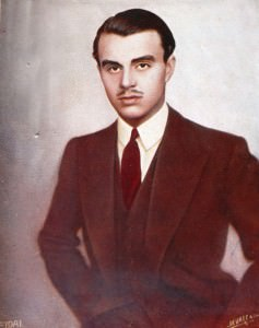 Aly Khan with Moustache