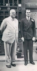 Aly Khan's 1930s Double Breasted Suit