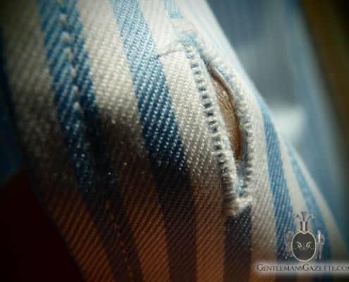 J. Hilburn Shirt Buttonhole