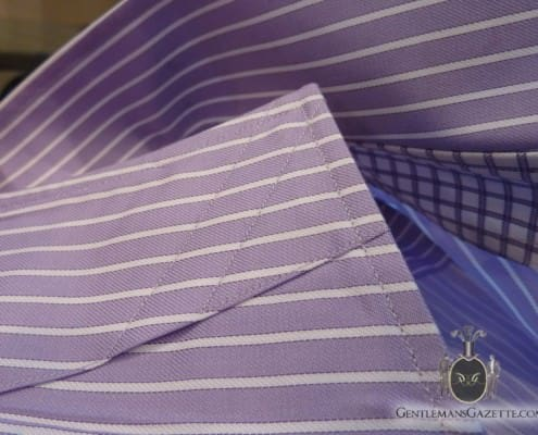 J. Hilburn Shirt Collar for Removable Stays