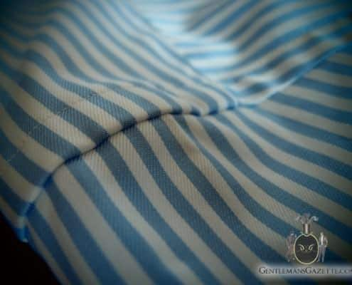 J. Hilburn Shirt Shoulder Pattern Matching