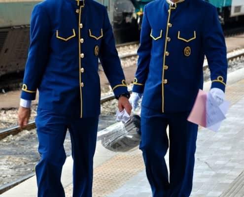 Orient Express VSOE Attendants