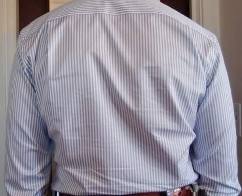 Shirt - Sloping Shoulder Wrinkles