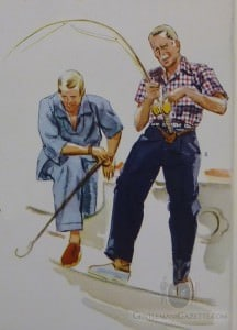 Summer Fishing Apparel Arts