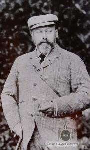 Bertie Edward VII in Tweedside Anzug mit Ghillie Collar
