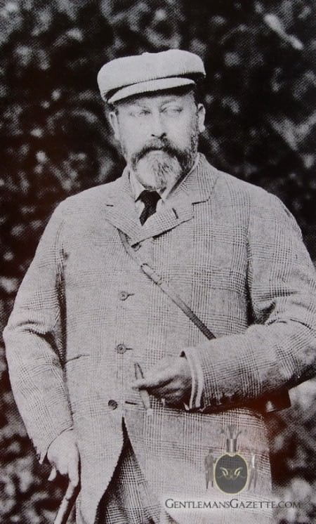 Bertie Edward VII in Tweedside with Ghillie Collar