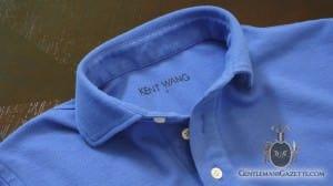 Kent Wang Polo Shirt Blue