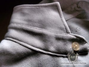 Kent Wang Polo Shirt Collar